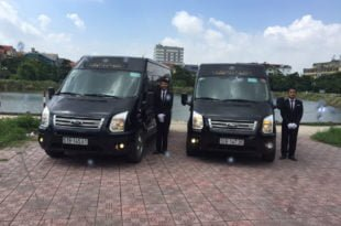 vietnam limousine van for rent